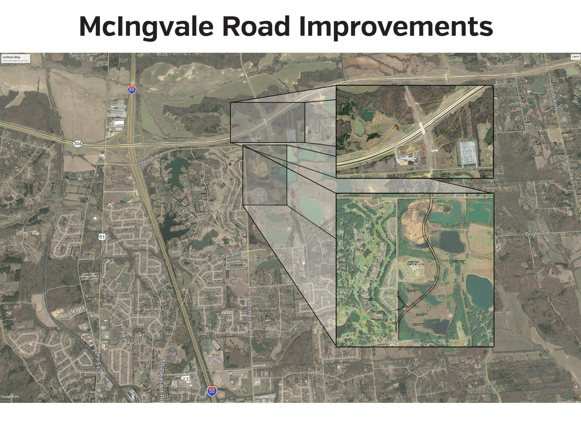 Officials celebrate McIngvale Road improvement groundbreaking