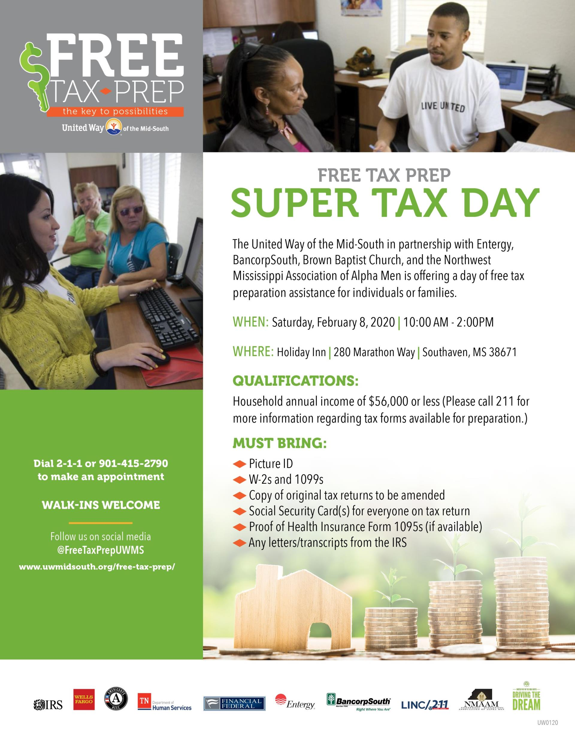 Free Tax Prep Day