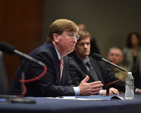 Mississippi Governor Tate Reeves Orders Shelter in Place