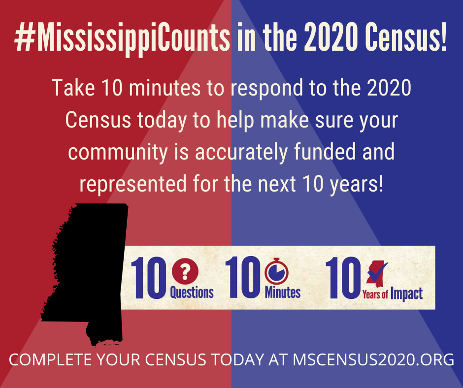 #MississippiCounts