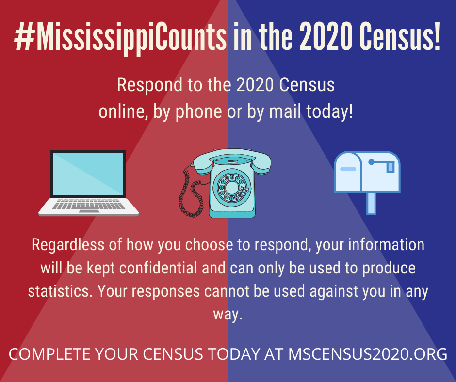 #MississippiCounts 2020 Census