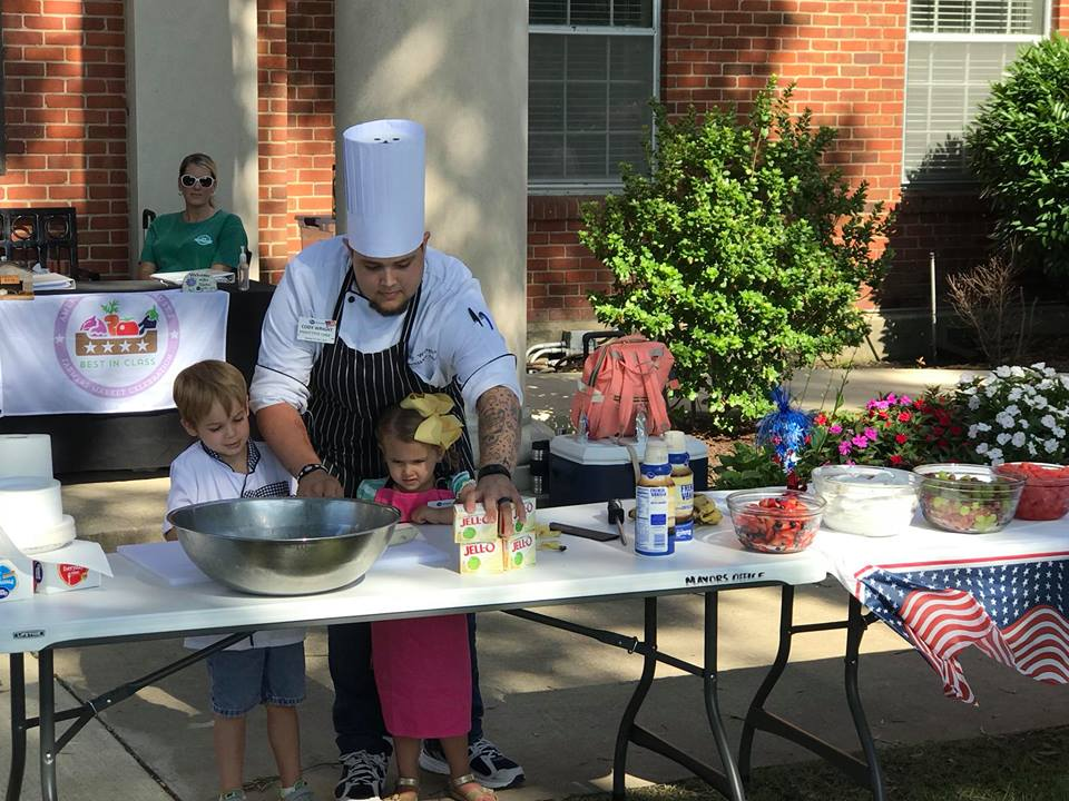 Kroger Marketplace - Chef Cody's Cooking Demo for Children's Day