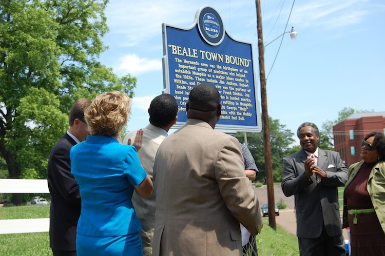 Blues Marker Dedication